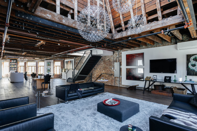 Bleecker loft - living room