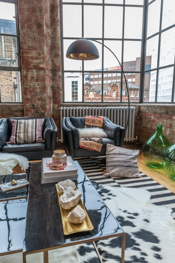 Eclectic London Loft Loftenberg