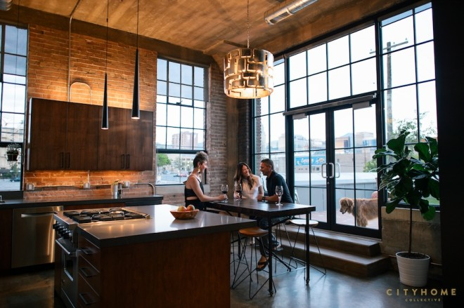 Gothic Industrial Loft In Salt Lake City Loftenberg